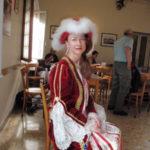 Fabiola in her Carnivale Costume