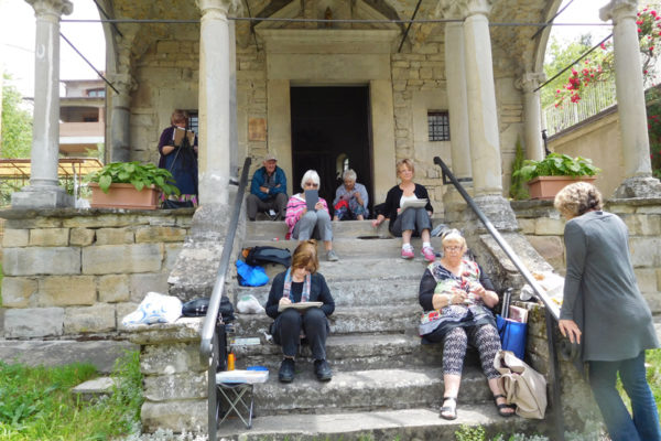 What happened at Regina Hona's 2016 Painting Workshop in Italy? feature image.
